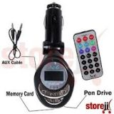 Car Mp3 Fm Modulator Transmitter With Usb And Memory Card Slots En