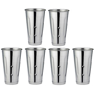 Set of 6 Long Lassi Glasses