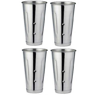 Set of 4 Long Lassi Glasses