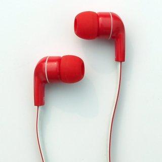 Amkette Tru Atom X10 Earphones with Mic (Red)