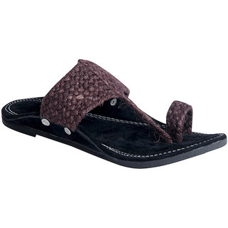 Panahi Mens Jute Ethnic Footwear Slippers
