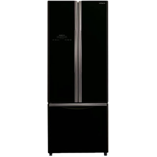 hitachi 456ltrs 3 door rwb480pnd2gbk inverter refrigerator. Black Bedroom Furniture Sets. Home Design Ideas