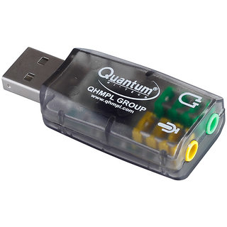 New Quantum Usb Sound Card Qhm 623 For Laptop And Computer