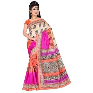Bhagalpuri Silk Printed  Saree 1185