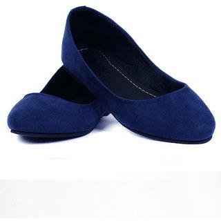 The Shoe Garage Stylish Women Belly Blue