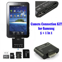 Gadget Hero's OTG 5+1 In1 Camera Connection KIT For Samsung Galaxy Tab P7500 P7510 P7300 P7310