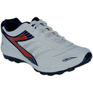 HM-Evotek Mens / Boys Sport Shoes In White -EKT-909(WB)