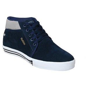 Sukun Blue Grey Casual Shoes For Men