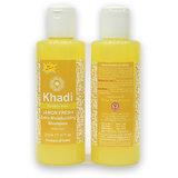Khadi Shampoo Lemon Fresh Extra Moisturizing (Paraben Free)