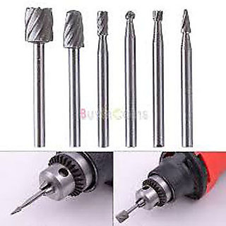 HSS Routing Router Grinding Bits Burr For Rotary Tool Dremel Bosch Popular