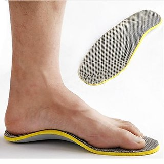 3D Orthotic Foot Arch Support insoles inserts cushion pads pain relief men women