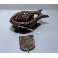 Wooden Coaster Set Fish Design