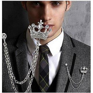 royal crown brooch