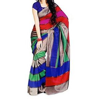 Party Wear Bhagalpur Designer Saree  Krazzy Seven Patta