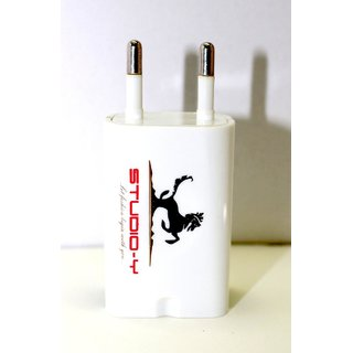 Dual Usb Wall Charger for Mobile  Tablet 2.1A from Studio-Y