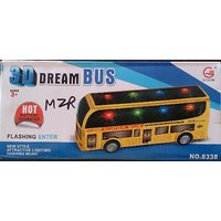 3D DREAM BUS Music  Lighting