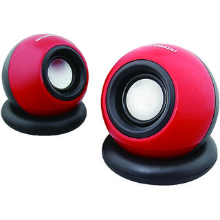 Hyundai HY-5T 2.0 Channel USB Speaker (Red)