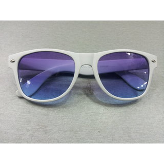 Cool Summer Wayfarer Sunglasses White  Unisex 100% UV Protection
