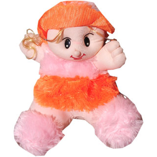 Soft toy Sitting fir doll for kids 33 cm SE-ST-10