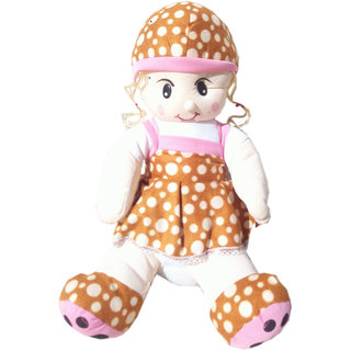 Soft toy Sitting doll for kids 45 cm SE-ST-11