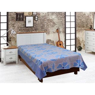 Akash Ganga Cotton Single Diwan Bedsheet (Diwan5)