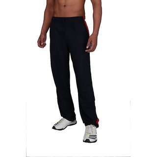 John Caballo Track-Pant ( 100% Cotton) - Navy Blue With Red