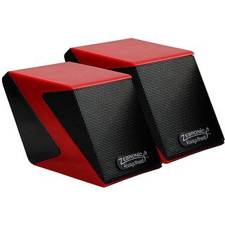 Zebronics-Cubic-Red-2.0-Speaker