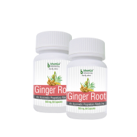 Ginger Root Capsules 60s - Asthma , Antioxidant, Reduce Menstrual Pain, Relieve A Headache, Arthritis (Pack Of Two)