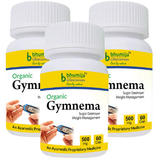 Gymnema Capsules 60s (Pack of Three)
