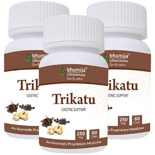 Trikatu Capsules 60s (Pack of Three)