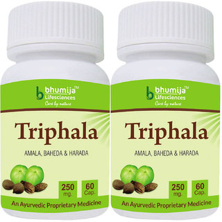 Triphala Capsules 60s (Pack of Two)