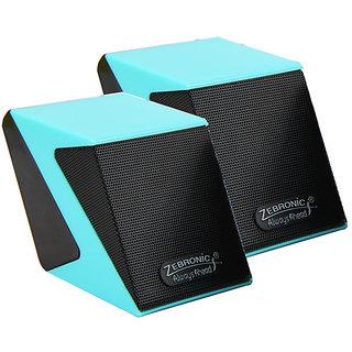 Zebronics Cubic - Blue 2.0 Speaker