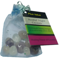Restful Night Crystals - Reiki Healing, Crystal Healing, Chakra Healing, Fengshui