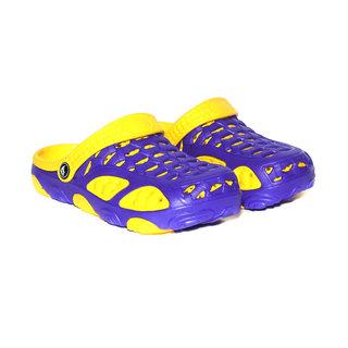 Craze Shop Blue & Yellow Sandals