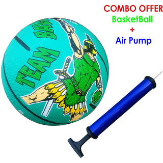 COMBO of Super Quality BASKETBALL + BALL AIR PUMP