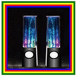 Water Speaker Show Music Fountain Light Mini Computer Speakers For Lapto