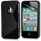 S Line SILICONE Case  FOR IPHONE 5G (BLACK)