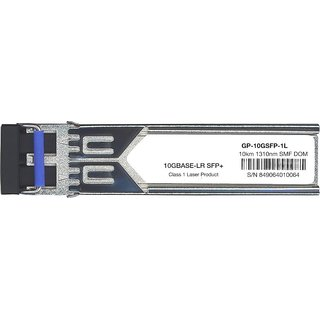 Force10 GP-10GSFP-1L Compatible 10GBase-LR 10Gbps 1310nm SFP+ Transceiver Module