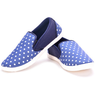 Maxis Mens Blue Slip On Casual Shoes