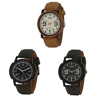 Oura Analog Multi Round Dial Casual Wear Watch For Men- MWBw-1485051-153