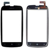 Original Touch Screen Digitizer Glass For Nokia Lumia 610 N610 - Black