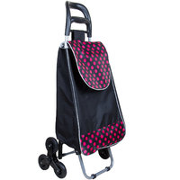 Folding Shopping Trolley Bag-Six Wheel