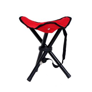 Folding Small Cone Seating Chair - Red