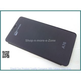 MICROMAX CANVAS FUN A76 FLIP COVER HIGH QUALITY available at ShopClues for Rs.189
