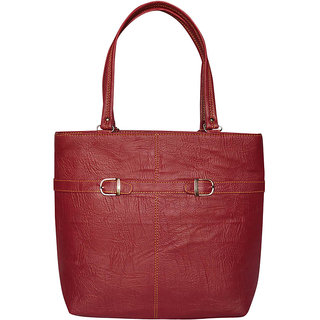 EXECUTIVE MAROON HAND BAG - (2BKLE)