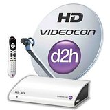 Videocon D2H  SD  connection with one month free south silver