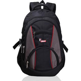 F Gear Midus Black Backpack