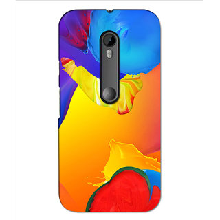 Instyler Premium Digital Printed 3D Back Cover For Moto G3 3DMOTOG3DS-10099