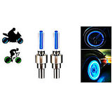 Colorful Magic Tyre Tire Flashing Flash Wheel Lights For All Bikes & Cars 1 Pa