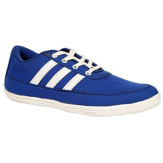 Sukun Blue White Casual Shoes